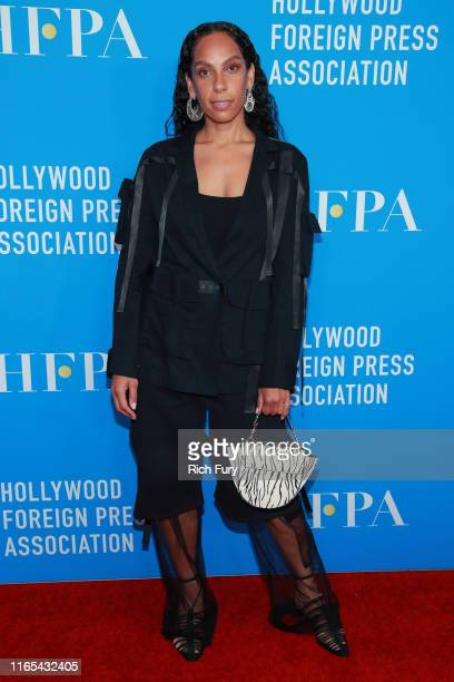 Melina Matsoukas attends the Hollywood Foreign Press Association's Annual Grants Banquet at Regent Beverly Wilshire Hotel on July 31 2019 in Beverly...