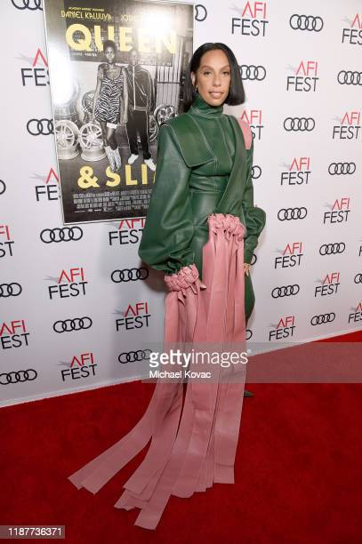 Melina Matsoukas attends the Queen Slim Premiere at AFI FEST 2019 presented by Audi at the TCL Chinese Theatre on November 14 2019 in Hollywood...