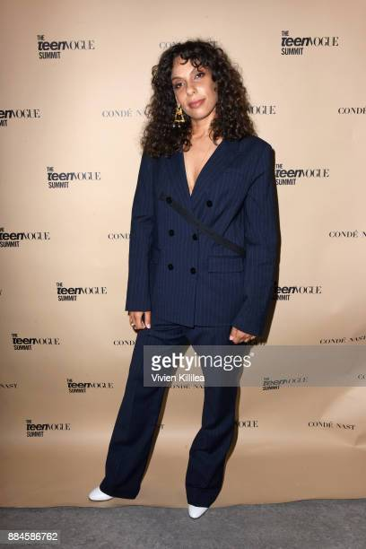 Melina Matsoukas attends The Teen Vogue Summit LA Keynote Conversation with A Wrinkle In Time director Ava Duvernay and actresses Rowan Blanchard and...
