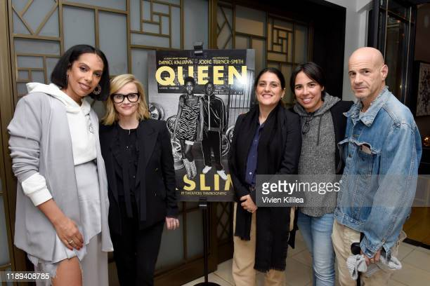Melina Matsoukas Reese Witherspoon Pamela Abdy Michelle Knudsen and Brad Weston attend Universal Pictures Presents A Special Screening Of Queen Slim...
