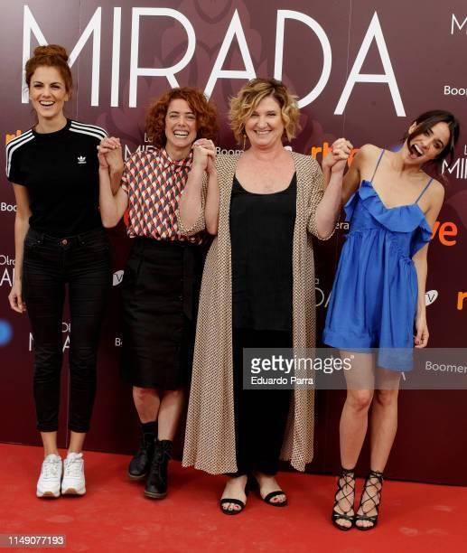Melina Matthews Patricia Lopez Ana Wagener and Macarena Garcia attend La Otra Mirada RTVE photocall on May 14 2019 in Madrid Spain