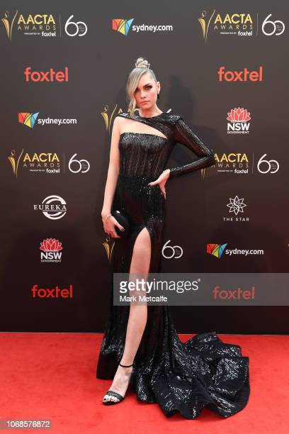 Melina Vidler attends the 2018 AACTA Awards Presented by Foxtel at The Star on December 5 2018 in Sydney Australia