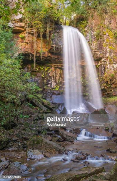 melincourt waterfalls, resolven in wales - ammunition magazine stock photos and pictures