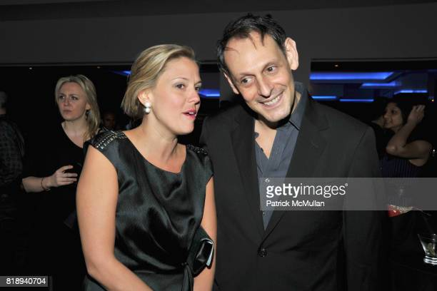 Melinda Anderson and Jonathan Marder attend PATTI SMITH Live in Concert A Benefit for The American Folk Art Museum at Espace on May 15 2010 in New...