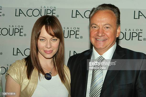Melinda Clarke and Charles Booth at Salon La Coupe