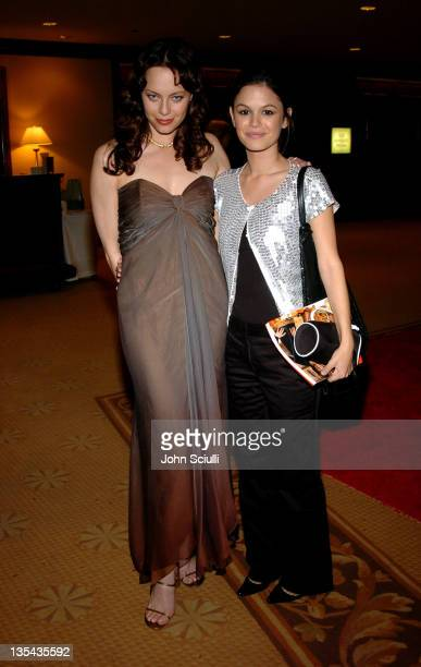 Melinda Clarke and Rachel Bilson during The Lili Claire Foundation's 7th Annual Benefit Gala Hosted by Matthew Perry Show and Audience at Century...