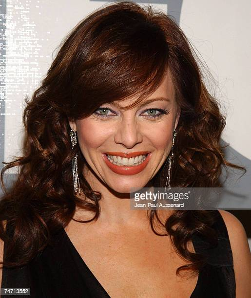 Melinda Clarke at the Meson G Restaurant in Los Angeles California