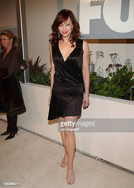 Melinda Clarke during 2005 Fox's White Hot Winter at Meson G Restaurant in Hollywood California United States