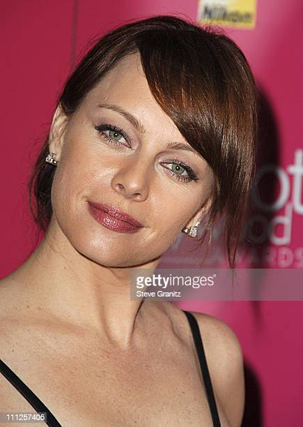 Melinda Clarke during 2006 US Weekly Hot Hollywood Awards Arrivals at Republic Restaurant Lounge in Los Angeles California United States