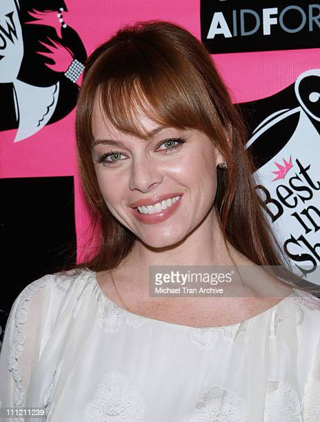 Melinda Clarke during 4th Annual Best in Drag Show to Benefit Aid for AIDS at WilshireEbell Theater in Los Angeles California United States