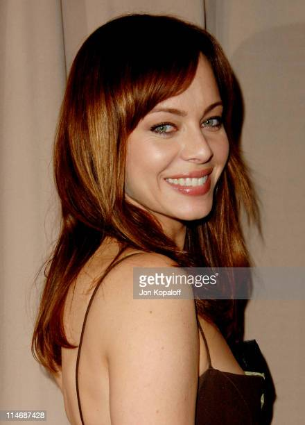 Melinda Clarke during 6th Annual Awards Season Diamond Fashion Show Preview Hosted by Diamond Information Center and In Style at Beverly Hills Hotel...