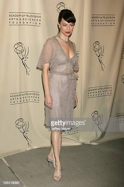 Melinda Clarke during Academy of Television Arts Sciences Presents The OC Revealed at Steven Ross Theatre/Warner Bros Studios in Burbank California...
