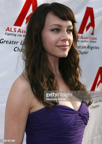 Melinda Clarke during ALS Benefit Hosted by Entertainment Tonight's Mark Steines at Geffen Playhouse in Los Angeles California United States