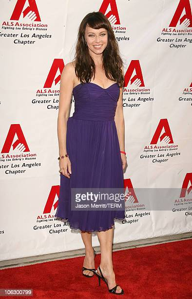 Melinda Clarke during ALS Benefit Hosted by Entertianment Tonight's Mark Steines at Geffen Playhouse in Westwood California United States