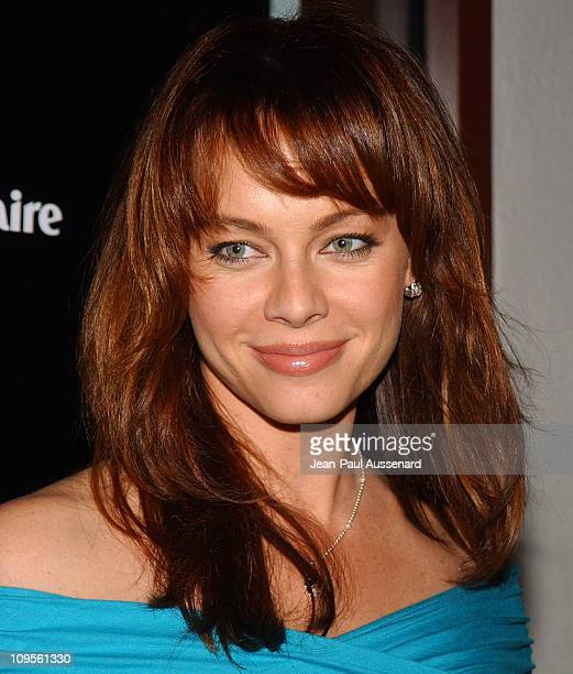 Melinda Clarke during A/X Armani Exchange Marie Claire Magazine and Kodak Supporting The Step Up Women's Network Arrivals at A/X Armani Exchange...