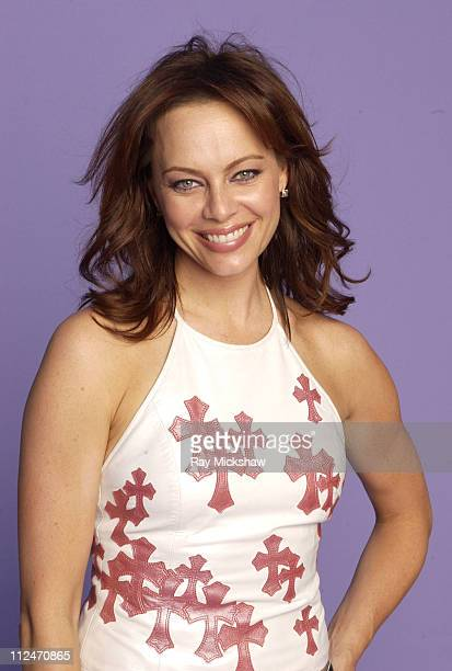 Melinda Clarke during Fox Portrait Studio at the 2004 Teen Choice Awards at Universal Ampitheatre in Universal City California United States