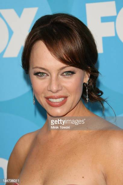 Melinda Clarke during FOX TCA Party Red Carpet at Ritz Carlton Huntington Hotel in New York City New York United States