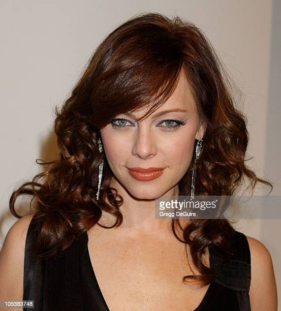 Melinda Clarke during Fox TV White Hot Winter Network Party at Meson G Restaurant in Los Angeles California United States