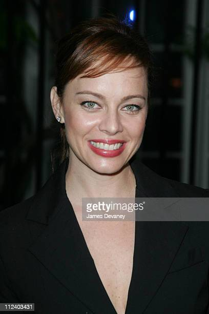 Melinda Clarke during Fox Upfront 20042005 at The Boathouse in Central Park in New York City New York United States