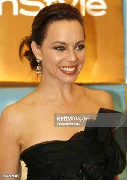 Melinda Clarke during In Style Warner Bros Studios Host 8th Annual Golden Globe Party Arrivals at Oasis Court Beverly Hilton Hotel in Beverly Hills...