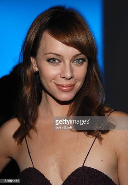 Melinda Clarke during MercedesBenz Spring 2007 LA Fashion Week at Smashbox Studios Elsie Katz Couture Front Row and Backstage at Smashbox Studios in...