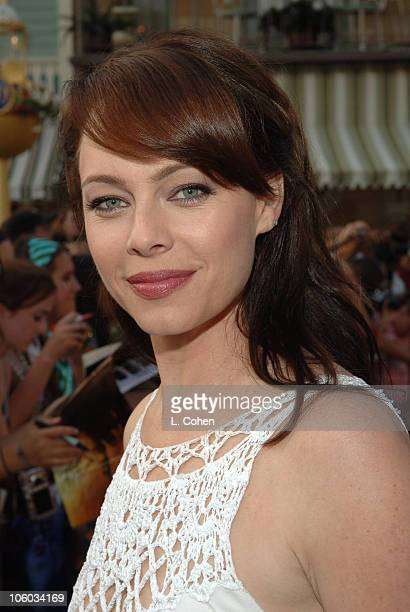 Melinda Clarke during Pirates of the Caribbean Dead Man's Chest World Premiere Red Carpet at Disneyland in Anaheim California United States