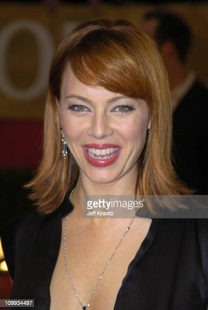 Melinda Clarke during The 30th Annual People's Choice Awards Arrivals at Pasadena Civic Auditorium in Pasadena California United States