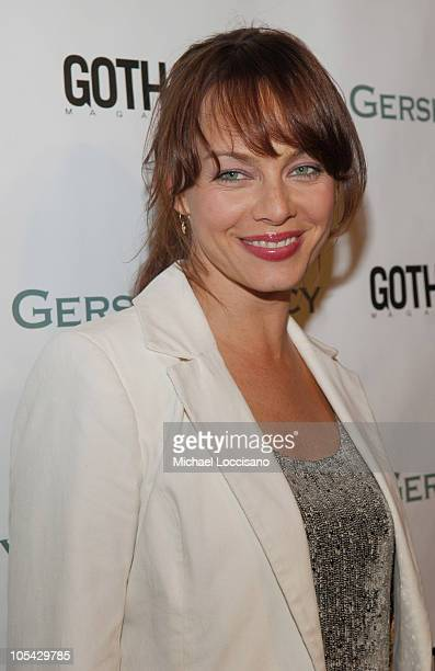 Melinda Clarke during The Gersh Agency Celebrates New York Upfronts with Gotham Magazine at BED in New York City New York United States