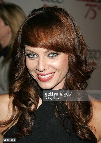 Melinda Clarke during The Hollywood Reporter 75th Anniversary Gala Presented By Audi Arrivals in Los Angeles California United States