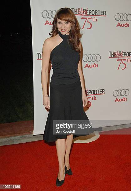 Melinda Clarke during The Hollywood Reporter 75th Anniversary Gala Presented by Audi Arrivals at Astra West in West Hollywood California United States