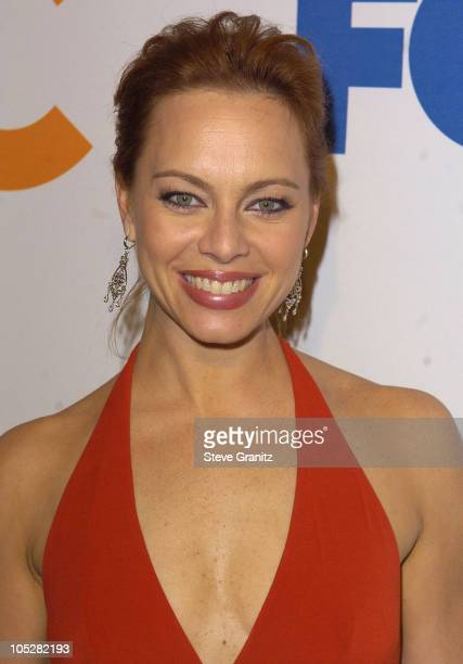 Melinda Clarke during The OC Season Finale Party Arrivals at Falcon in Hollywood California United States