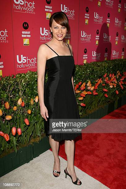 Melinda Clarke during Us Weekly Hot Hollywood Awards Red Carpet at Republic Restaurant Lounge in West Hollywood California United States