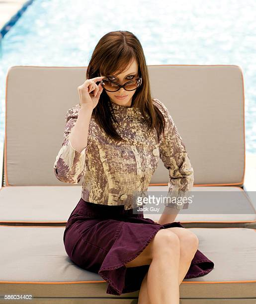 Melinda Clarke is photographed in 2005 in Los Angeles California