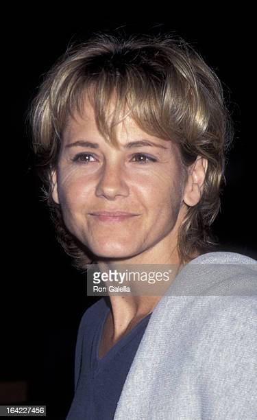 Melinda Culea attends the premiere of Beyond Rangoon on August 22 1995 at the Director's Guild Theater in Hollywood California