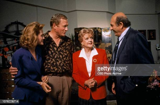 Melinda Culea Ken Howard Angela Lansbury and Herb Edelman star in an episode of the CBS television detective drama Murder She Wrote titled The Mole...