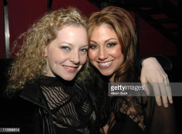 Melinda Dahl and Diane Gaeta during Trust Los Angeles Screening November 30 2005 at Rokbar in Los Angeles California United States