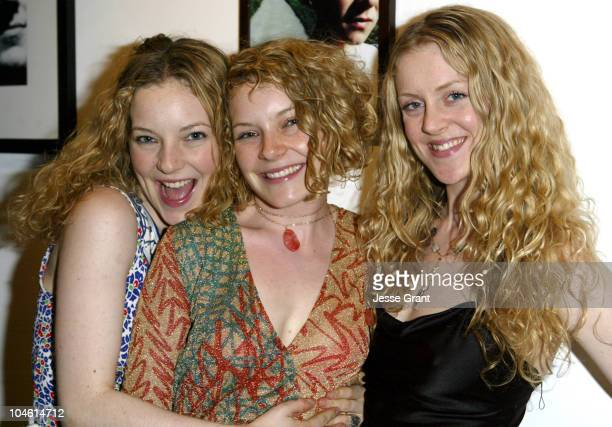Melinda Dahl Caitlin Dahl and Lolo Dahl during Fundraising Event for the New Film 'White Picket Fence' at Art Share in Los Angeles California United...