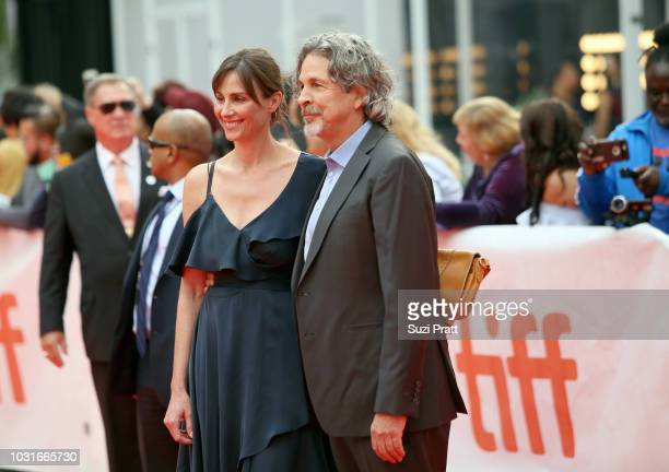 Melinda Farrelly and Peter Farrelly attend the 'Green Book' premiere during 2018 Toronto International Film Festival at Roy Thomson Hall on September...