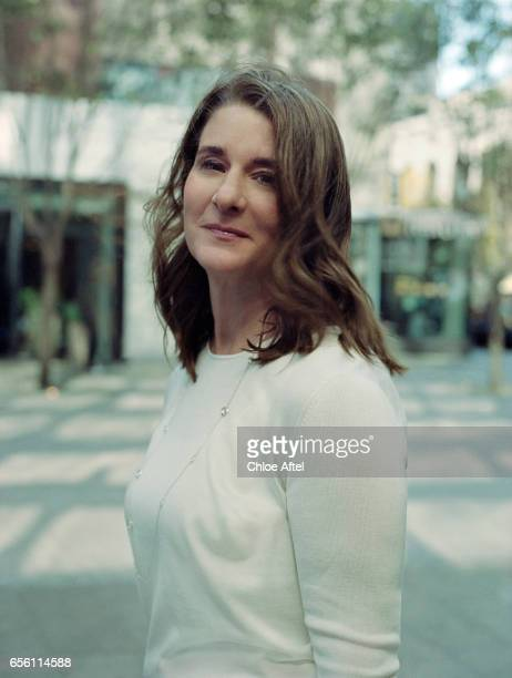 Melinda Gates is photographed for Fast Company Magazine on October 5 2016 in San Francisco California