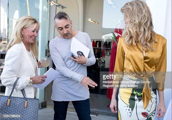 Melinda Grubbs Left Of Laguna Beach Listens As Fashion Designer News Photo Getty Images
