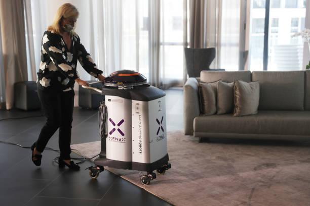 "FL: Miami Residential Building Deploys ""COVID-Killing Robot"""
