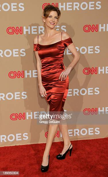 Melinda McGraw arrives at the 2010 CNN Heroes An AllStar Tribute at the Shrine Auditorium on November 20 2010 in Los Angeles California