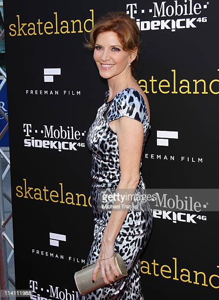 Melinda McGraw arrives at the Los Angeles Premiere of Skateland held at ArcLight Hollywood on May 11 2011 in Hollywood California