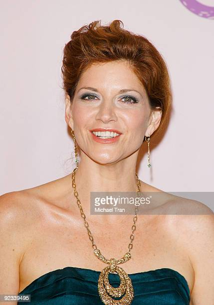 Melinda McGraw arrives to the 20th Anniversary 2009 EMA Awards held on the backlot at Paramount Studios on October 25 2009 in Los Angeles California