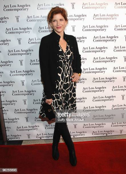 Melinda McGraw attends Opening Night of Art Los Angeles Contemporary at Pacific Design Center on January 28 2010 in West Hollywood California