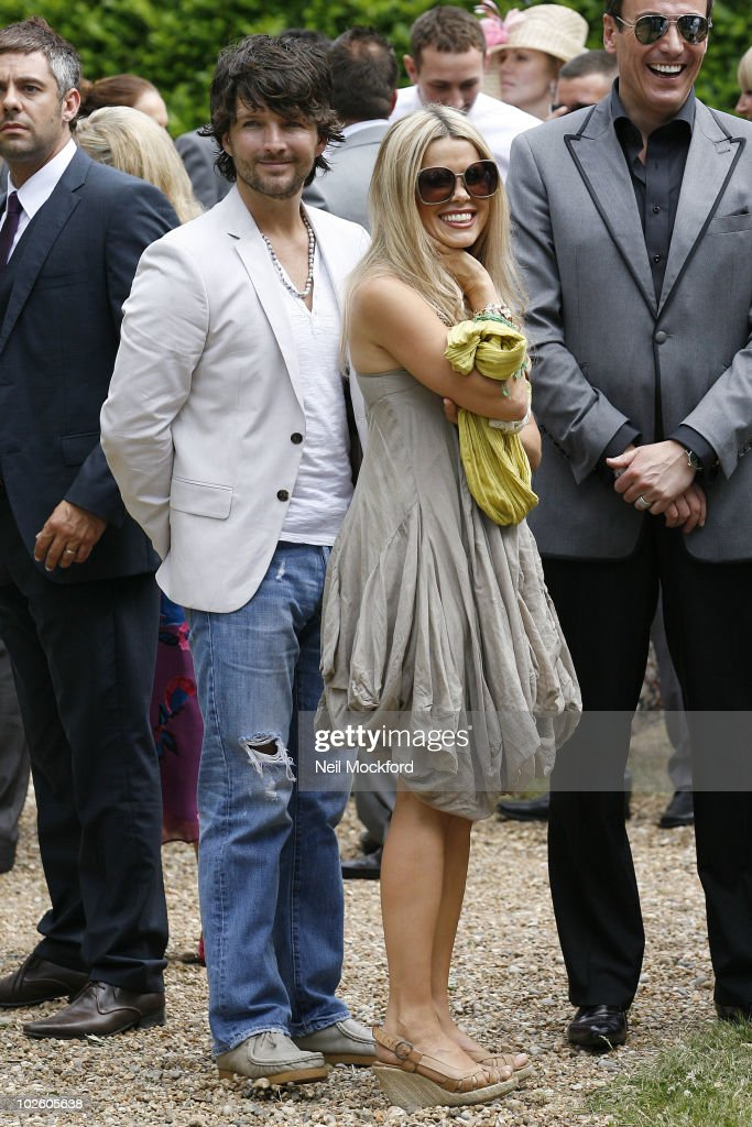 Melinda Messenger And Wayne Roberts Attend The Wedding Blessing Of Katie Price Alex Reid At