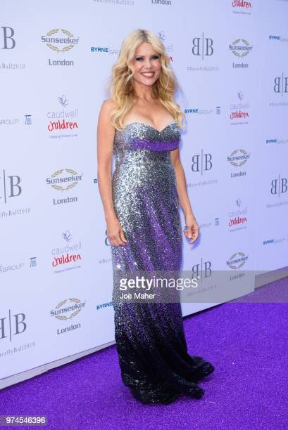 Melinda Messenger attends The Caudwell Children Butterfly Ball at Grosvenor House on June 14 2018 in London England
