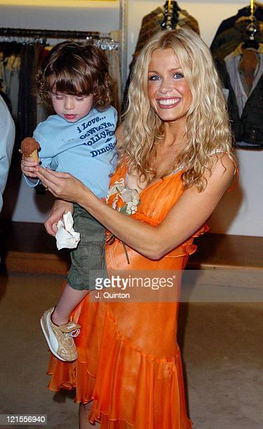 Melinda Messenger during DG Children's Fashion Show at Harrods in London Great Britain