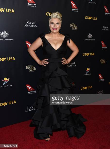 Melinda Schneider arrives at the 16th Annual G'Day USA Los Angeles Gala at 3LABS on January 26 2019 in Culver City California