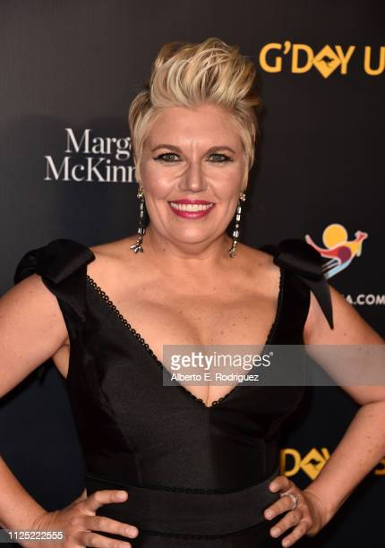 Melinda Schneider attends the 16th annual G'Day USA Los Angeles Gala at 3LABS on January 26 2019 in Culver City California